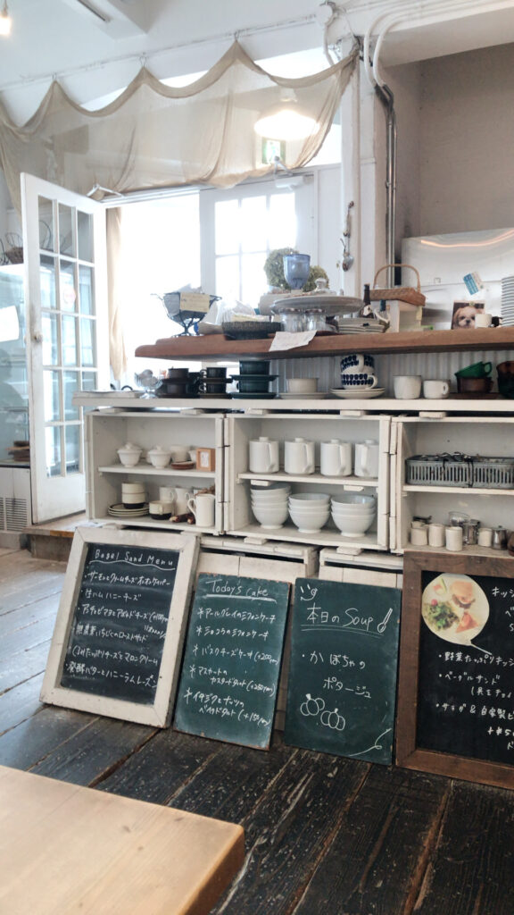 cafe fouet店内